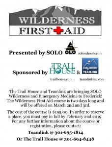 wilderness first aid 2019
